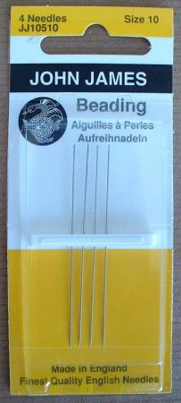 #10 Long Beading Needles