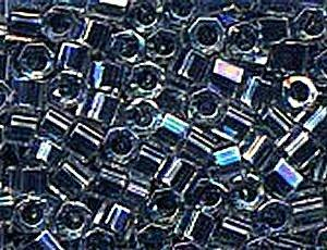11C-283 (639) Noir Lined Crystal AB