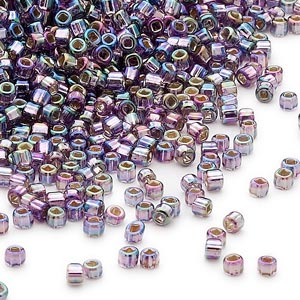 11D-4544 Silver Lined Purple Rainbow