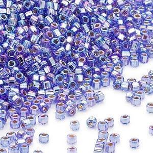 11D-4553 Silver Lined Purple Rainbow