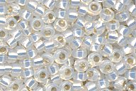 15-551 Gild Lined White Opal