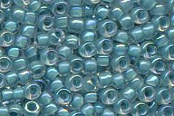 15-2208 Turquois Green Lined Crystal AB