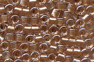 DB-901 Sparkle Honey Beige Lined Crystal
