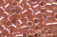 DBM-54 D/Peach Lined Crystal AB