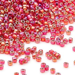 11D-4541 Silver Lined Ruby Rainbow